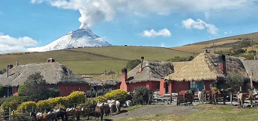 Tierra del Volcán is safe and open for visitors